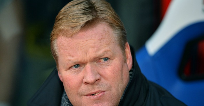 Ronald Koeman: Manager unhappy with sides' form