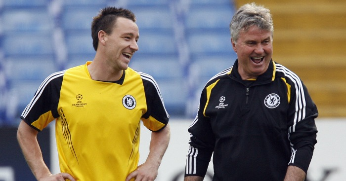 John Terry: Ready to work with Guus Hiddink again