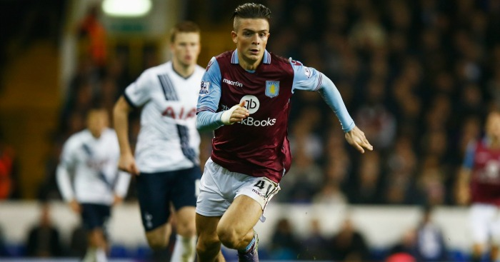 Jack Grealish: Midfielder back with Aston Villa first team