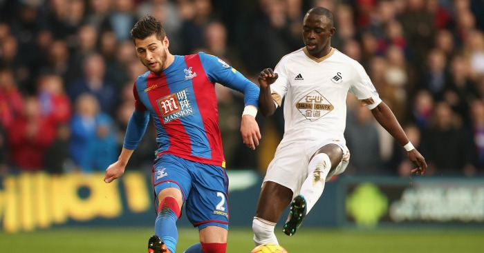 Joel Ward: Right-back happy with Crystal Palace form