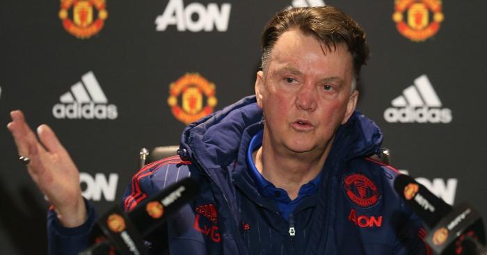 Louis van Gaal: Not a happy man