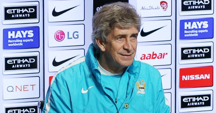 Manuel Pellegrini: No transfer plans
