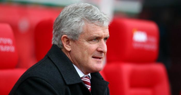 Mark Hughes: Faces former Stoke City boss Tony Pulis on Saturday
