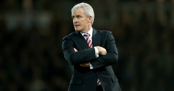 Mark Hughes: Stoke City boss preparing to face Manchester United