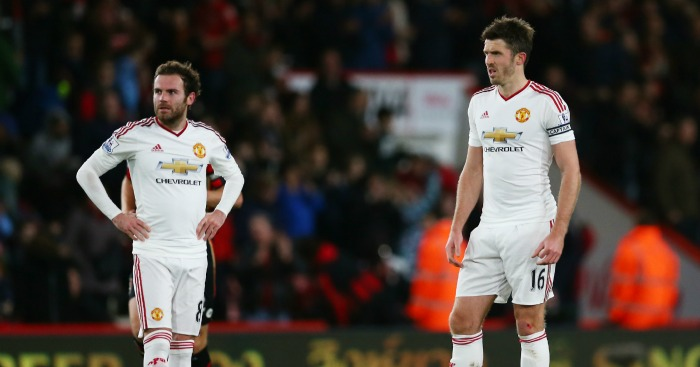 Michael Carrick: Says United are trying for Van Gaal