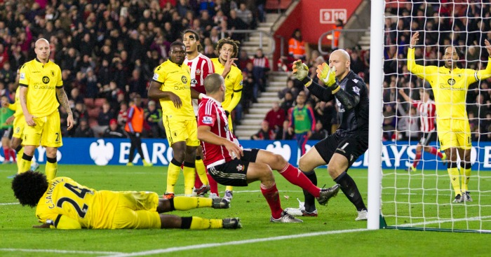 Oriol Romeu: Pokes home Southampton's equaliser