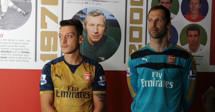 Mesut Ozil & Petr Cech: Duo have shone for Arsenal this term