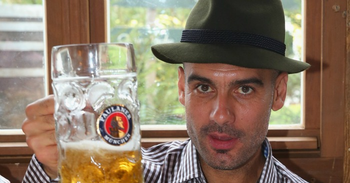 Pep Guardiola: Will take over at Manchester City in the summer