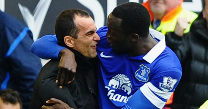 Romelu Lukaku: Warmly praised by Roberto Martinez