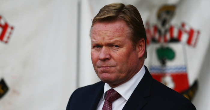 Ronald Koeman: Wants consistently in dealing with grappling