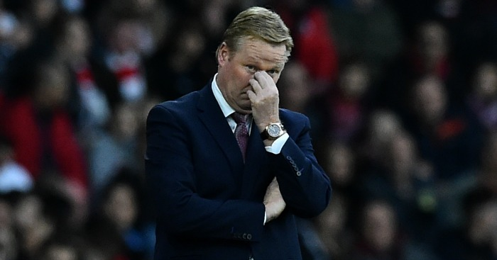 Ronald Koeman: Not happy about Southampton's Christmas schedule