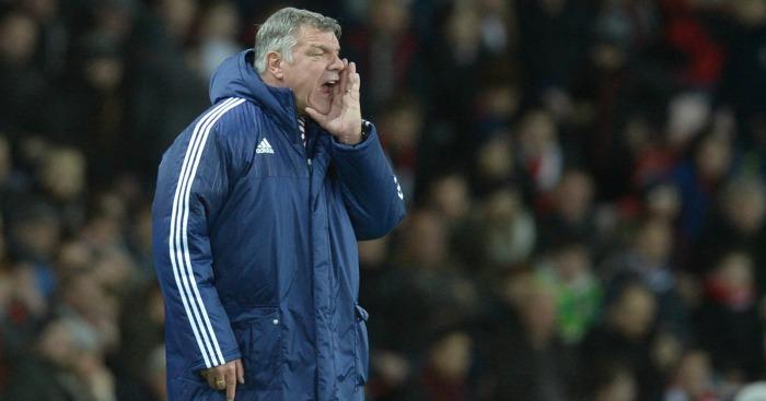 Sam Allardyce: Felt Sunderland were unlucky against Liverpool