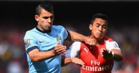 Sergio Aguero and Alexis Sanchez: Go head to head on Monday night