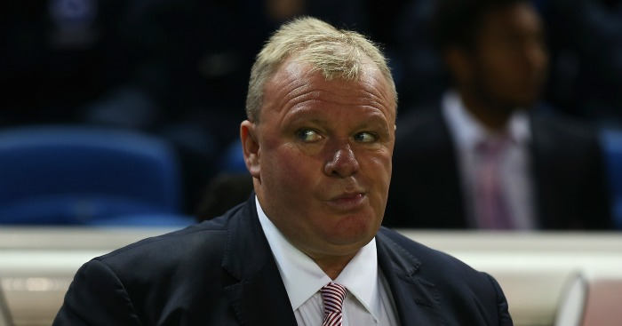 Steve Evans: Question marks over his future at Leeds