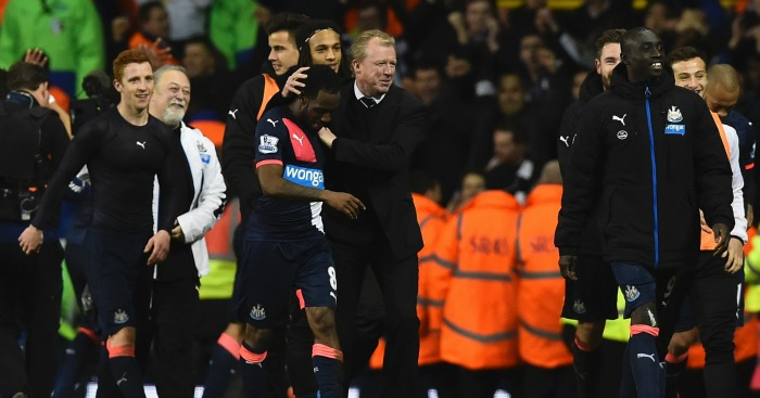 Steve McClaren: Delighted with Newcastle United players at half-time