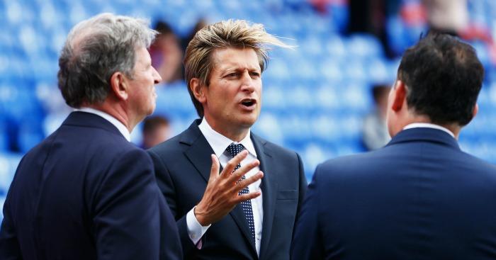 Steve Parish: Has high hopes for Crystal Palace