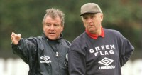 Don Howe: Alongside Terry Venables during England coaching role