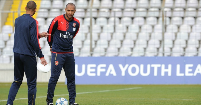 Thierry Henry: Arsenal legend now coaches youth team
