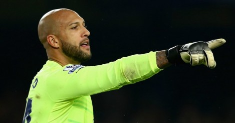Tim Howard: Has left Everton to join Colorado Rapids