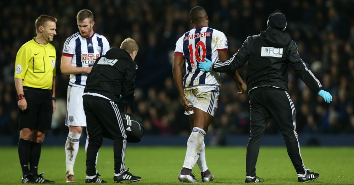Victor Anichebe: Has trained alone at West Brom this season