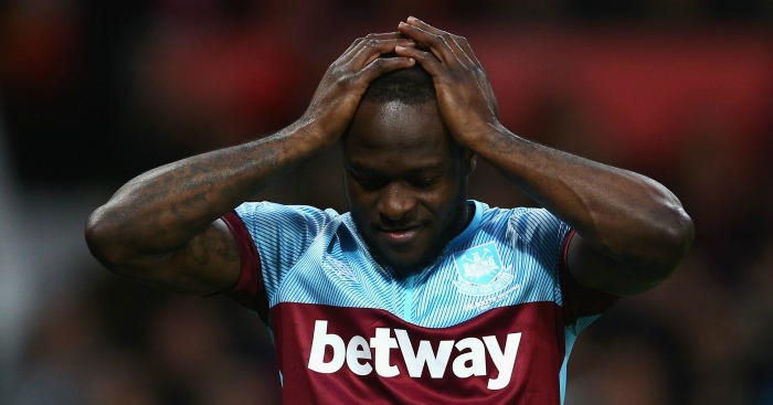 Victor Moses: Limped off during draw at Manchester United