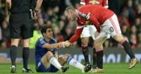 Wayne Rooney: Escaped red card for challenge on Oscar