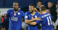 Wes Morgan (l): None too revealing about Foxes ambitions