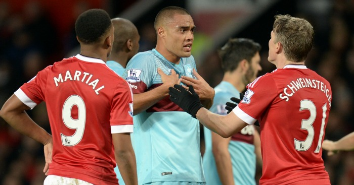 Bastian Schweinsteiger: Was banned for elbow on Winston Reid