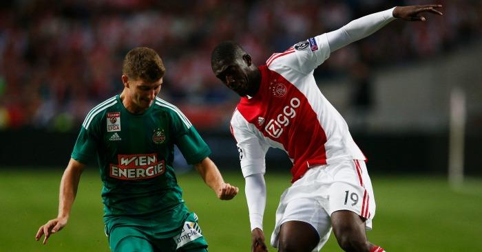 Yaya Sanogo: Striker played only 57 minutes of football for Ajax
