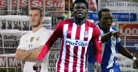 Gareth Bale, Thomas Partey and Vincent Aboubakar linked with moves