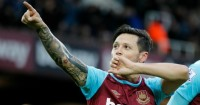"Mauro Zarate: Thanked the club's ""unique"" fans"
