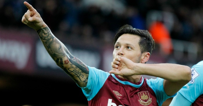 """Mauro Zarate: Thanked the club's """"unique"""" fans"""