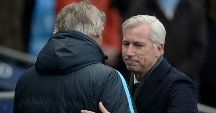 Alan Pardew: Felt 4-0 scoreline was harsh on Crystal Palace