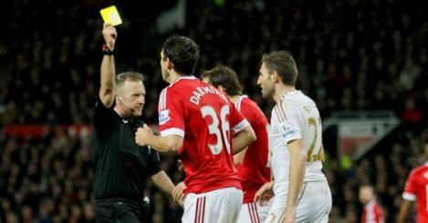 Angel Rangel: Swansea City defender dived at Manchester United
