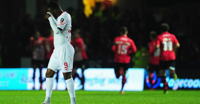 Christian Benteke: Captained Liverpool at Exeter