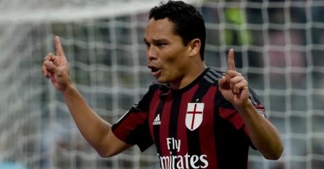 Carlos Bacca: Feeling happy at AC Milan