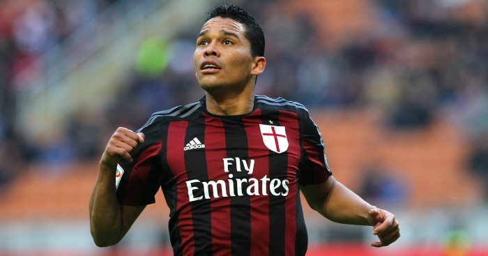 Carlos Bacca: Striker opted to stay at AC Milan