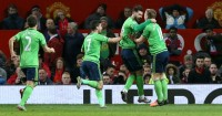 Charlie Austin: Celebrates first Southampton goal at Manchester United