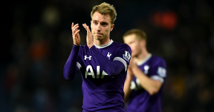 Christian Eriksen: Happy with life at Tottenham