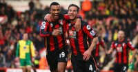 Junior Stanislas (l): Has a hamstring problem