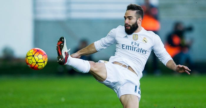 Dani Carvajal: Defender lost first-team place at Real Madrid