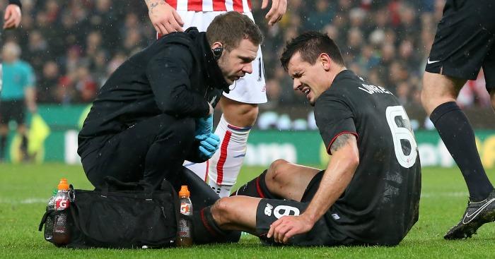 Dejan Lovren: One of several Liverpool injury victims