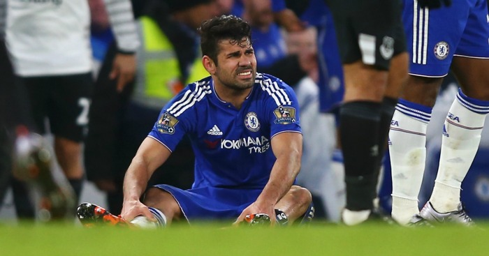 Diego Costa: Injured in Chelsea's draw with Everton