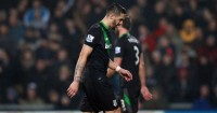 Geoff Cameron: Sent off in Stoke City's defeat at West Brom