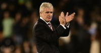 Mark Hughes: Stoke City boss linked with Everton job