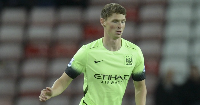 George Evans: Joined City's academy aged six