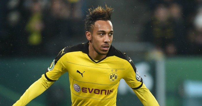 Pierre-Emerick Aubameyang: Linked with Man City.
