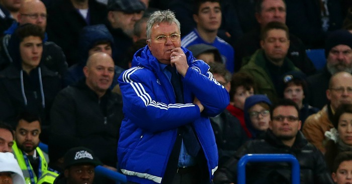 Guus Hiddink: Ready for trip to Arsenal