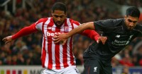"""Glen Johnson: Stoke will be """"right in there"""" at Anfield"""