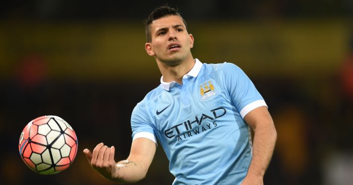 Sergio Aguero: Striker has been linked with Real Madrid.